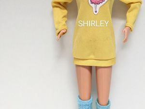 CLICK TO ENLARGE (My First Fashions #18MATTEL #3180/1986)