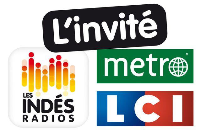 """LCI s'associe aux Indés Radios et à Metro pour l'émission politique """" L'Invité"""" (Mélenchon ce jeudi)."""