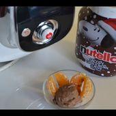Recette cookeo : glace au Nutella