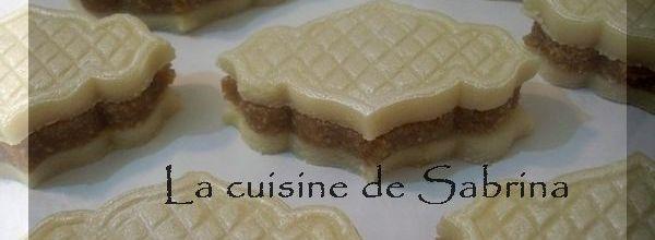 Kefta mauresque « gâteau algérien en pate d'amande sans cuisson »