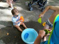 Des jeux d'eau à gogo !!!