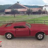 FORD MUSTANG MACH 1 ERTL 1/64 - car-collector