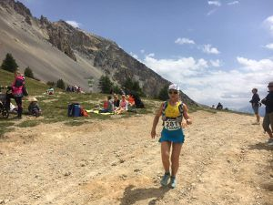 HELENE...CHAMPIONNE DE FRANCE DE TRAIL LONG EN IMAGE