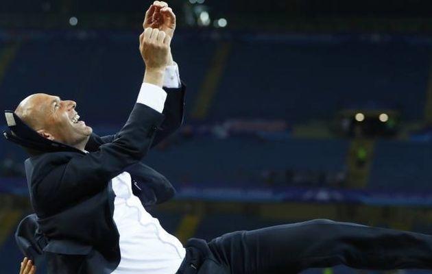 Zidane au sommet de l'Europe