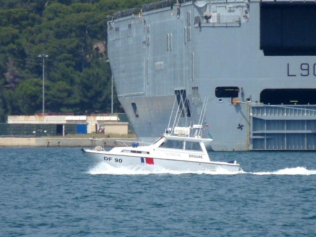MARAVENNE  DF90 , vedette des douanes en rade de Toulon