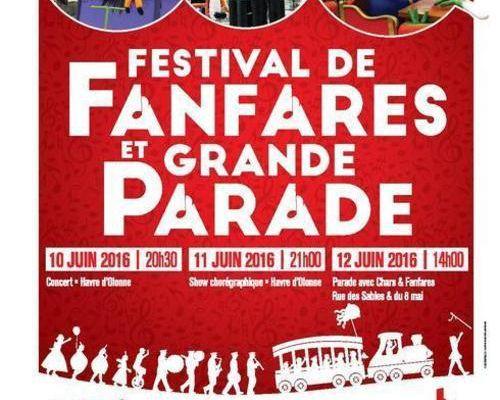 Festival Fanfares et grande parade aux Sables d'Olonne