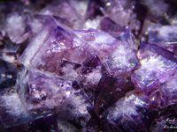 Fluorite (Fluorine) from Blackdene Mine, Weardale, Durham Country, England UK (GB) (size: Museum)