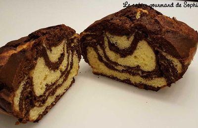 Marbré chocolat vanille au mascarpone