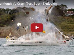 Une explosion au gaz simulée à bord d'un voilier de croisière