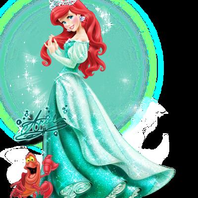 Ariel - Princesse - Disney - Dessin-animé - Render-Tube - Gratuit