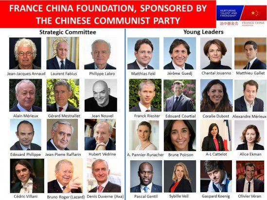 Olivier Véran et sa compagne Coralie Dubost membres de la France China Foundation