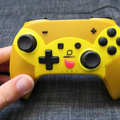 Test de la manette sans fil pour Nintendo Switch Pop Top de Minibird