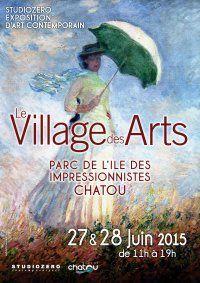 Samedi 27 et dimanche 28 juin : le village des arts s'installe à Chatou