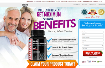 Fast Flow Male Enhancement - Reviews, Male Pills, Benefits, Where To Buy?