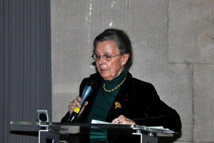 Initiée par l'UGF, conférence sur les origines irlandaises du général de Gaulle par Thérèse Ghesquière-Dierickx, avocat général honoraire et cousine du général.