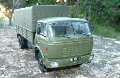 Berliet GR 250 XL  (Base collection-presse Altaya - 1/43 - par Hervé C.)