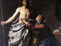 """Tableaux de grands maitres peintres sur le """"Noli me tangere, Ne me touche pas"""" Marie Madeleine et la Résurrection."""
