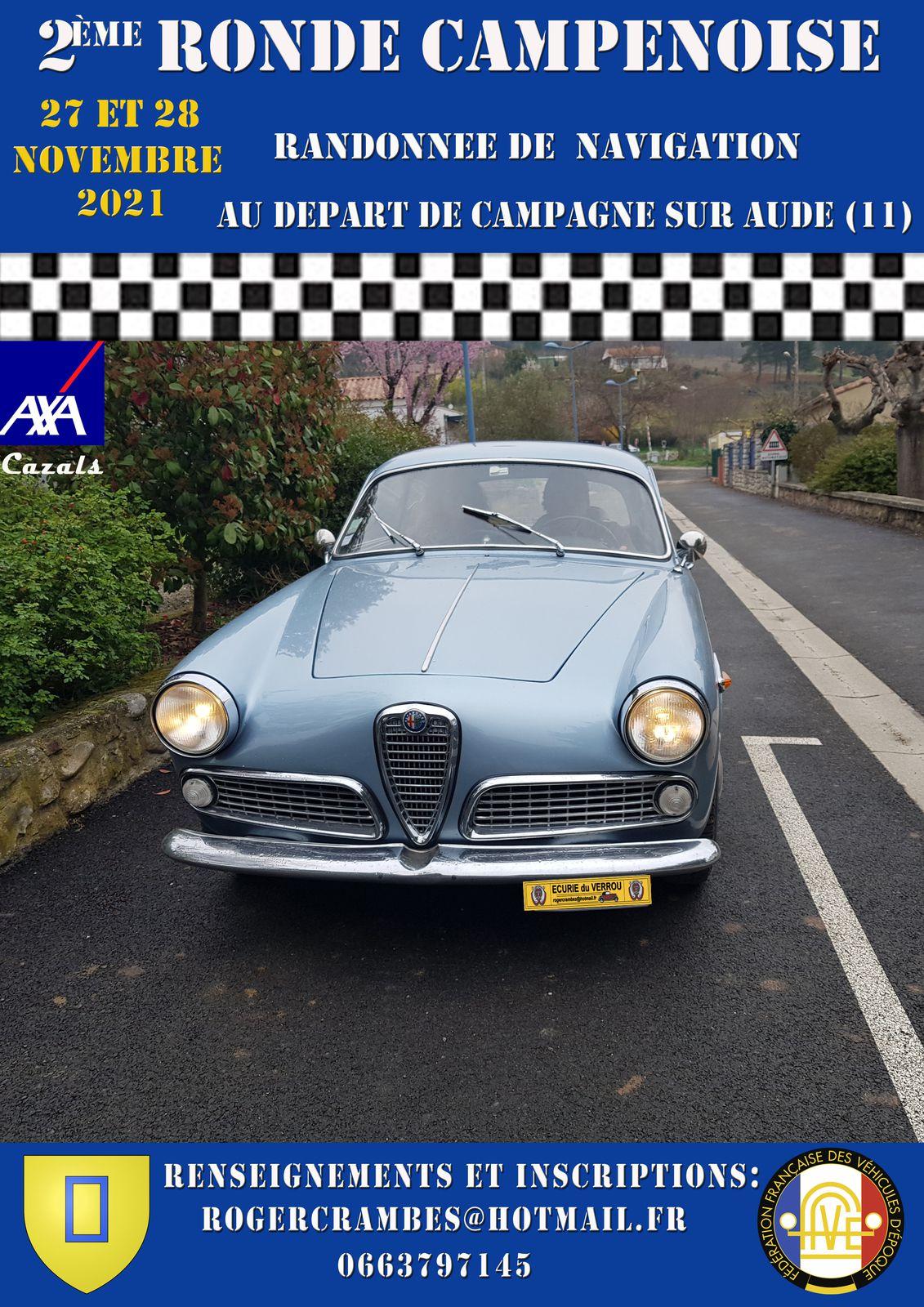 Rallye Historique (Calendrier 2021 et 2022)...