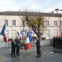 Saint André les Alpes,11 Novembre, nouveau drapeau aux Anciens Combattants