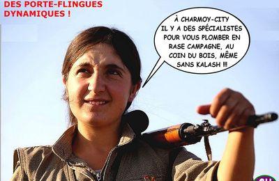 CHARMOY-CITY : LE PKK AU SECOURS DE L'ÉCHO ?? - du 7 février 2021 (J+4435 après le vote négatif fondateur)