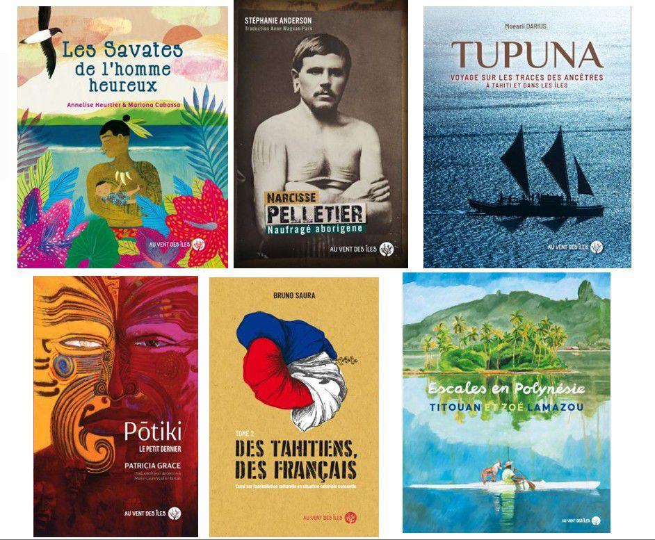 Au Vent des Îles, éditeur du fenua : toujours des nouveautés à découvrir.