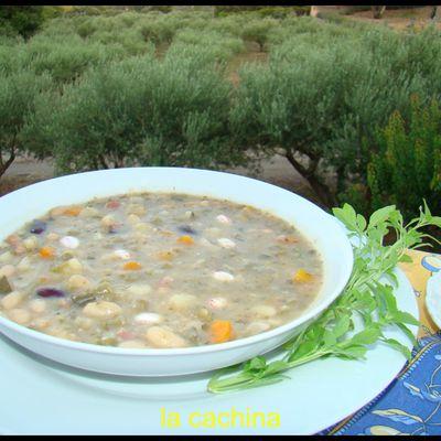 La soupe au pistou, certes c'est une parmis tant d'autres