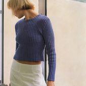 Tutoriel tricot - Pull en côtes - Passionnement Créative