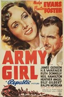Army Girl de George Nichols Jr. avec Preston Foster, Madge Evans, Henry Byron Warner, Billy Gilbert, James Gleason