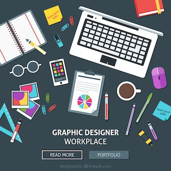 Graphic design and photography websites