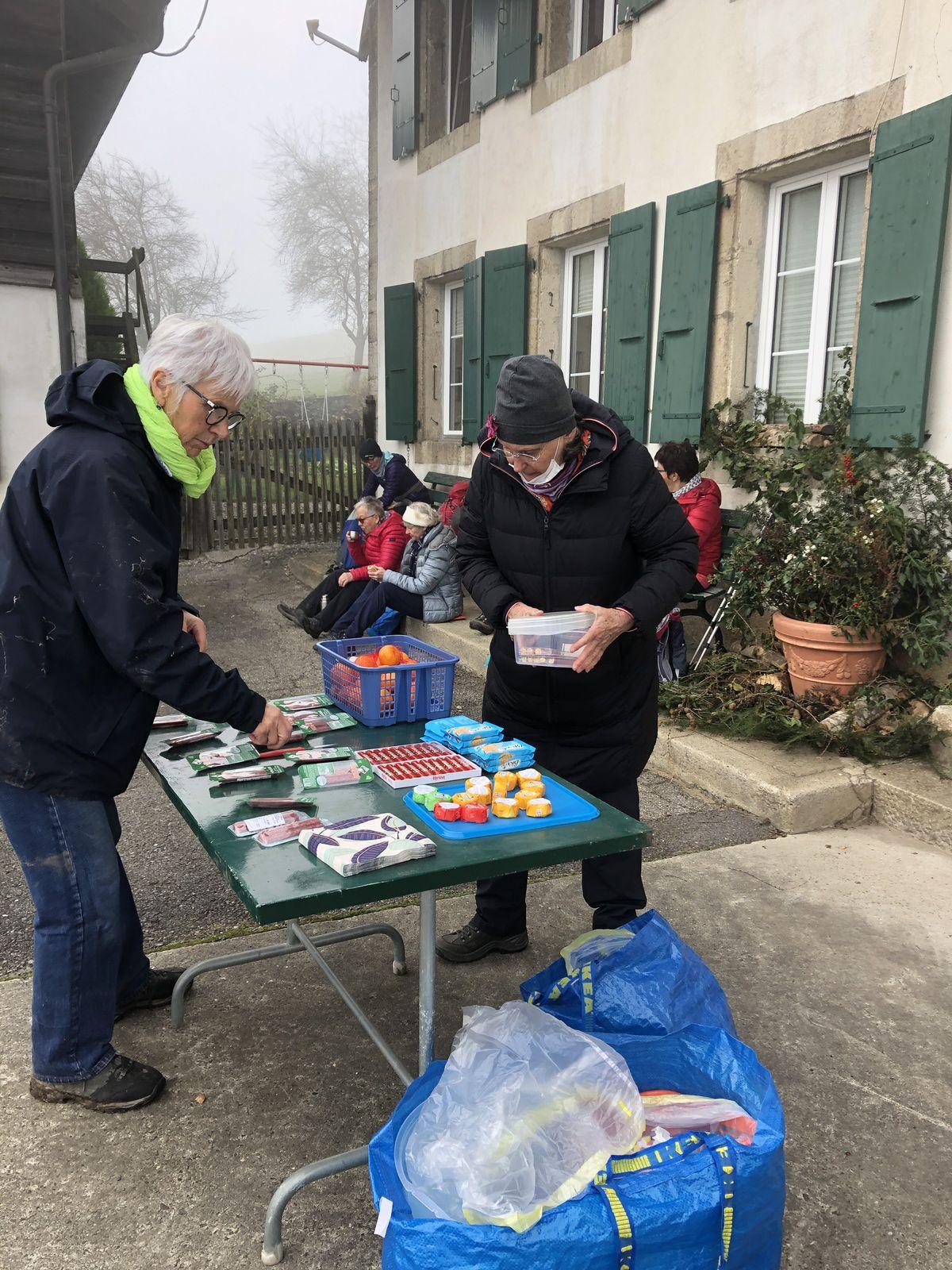 Mardi 24 Novembre : Au dessus de Moudon