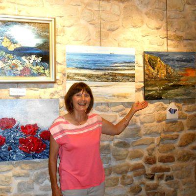 Martine Bernard, Artiste peintre