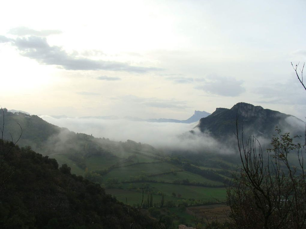 Ma randonnée du mercredi : Gigors -Le Plateau du Savel