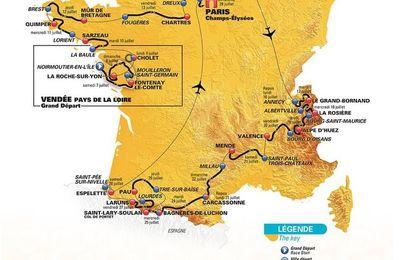 Découvrez le parcours du Tour de France 2018