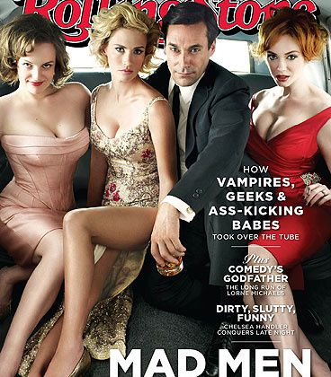 Série Express : Mad Men se tape la couv' de Rolling Stone, ...