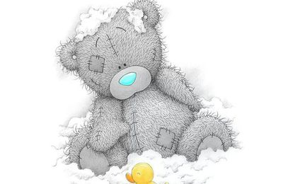 Tatty Teddy - Ourson - Bain - Canard - Mousse - Picture -Free