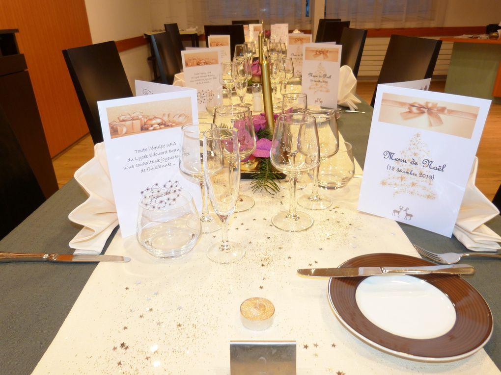 Photos du repas de noël du 12 Décembre