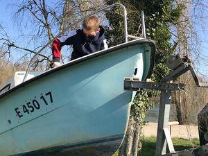 Nettoyage de la mise à l'eau et de notre ponton plastique