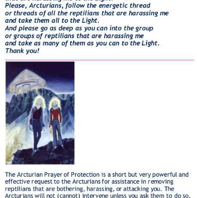 Post 51 - Arcturian Prayer of Protection