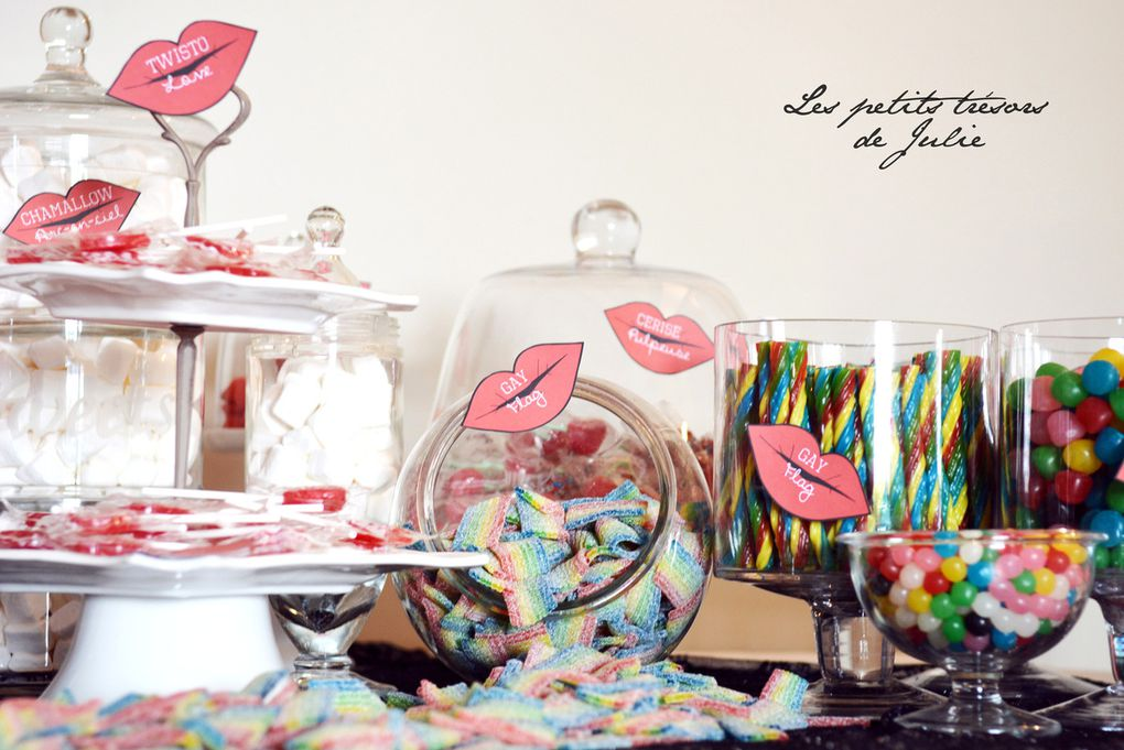 Papeterie Candy Bar glam'chic