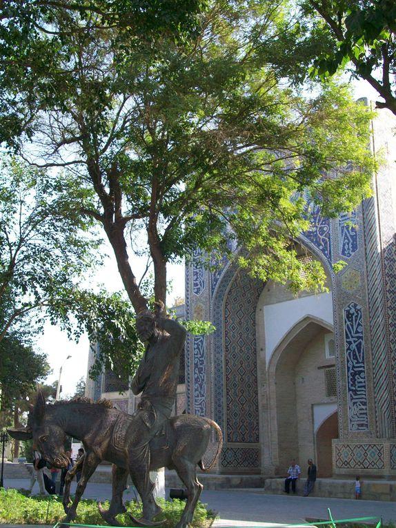 En route vers Boukhara la magique où je deviens citoyen d'honneur ...
