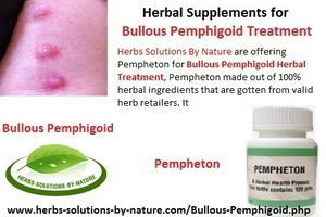 Herbal Supplements for Bullous Pemphigoid Treatment