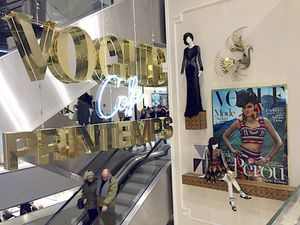NEW ! Le Vogue Café au Printemps Haussmann