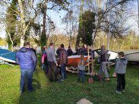 Ré-organisation du parc à bateaux