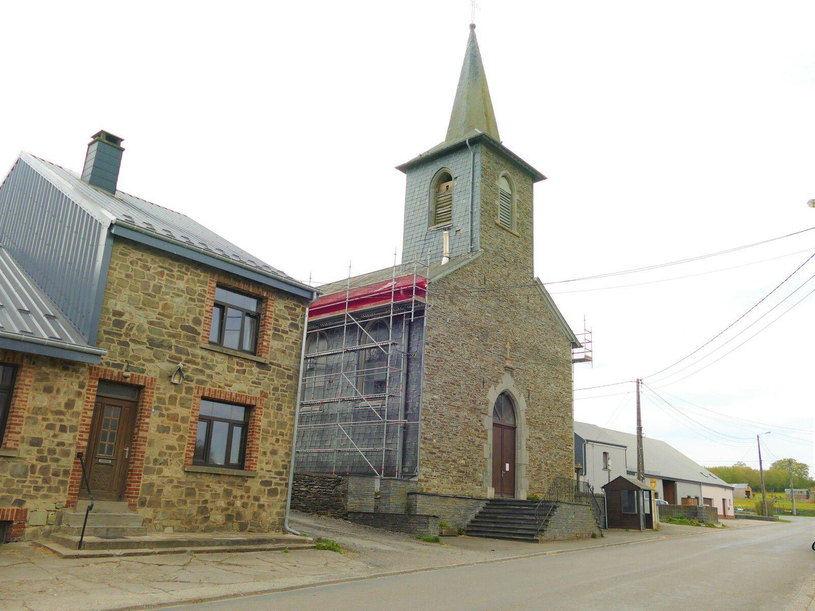 L'église de Tournay