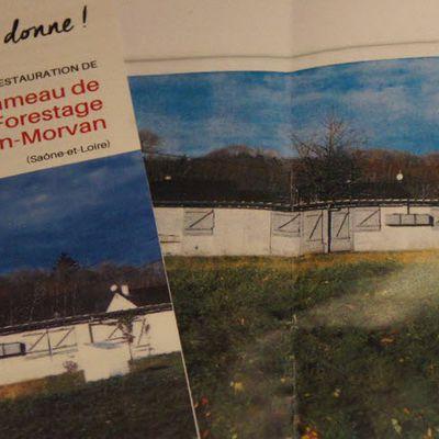 La commune Roussillon-en-Morvan (71) participe à la préservation d'un patrimoine original lié aux Harkis