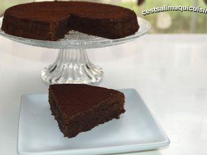 Recette autour d'un ingrédient # 55 le café :                               Gâteau Mississipi