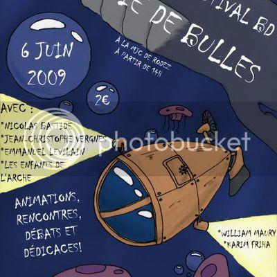 Pluie de Bulles à la MJC samedi 6 Juin
