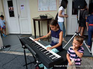 Dans le cadre du Festival Piano, du 27 au 31 octobre, une journée portes ouvertes s'est déroulée ce samedi au conservatoire, une réussite totale