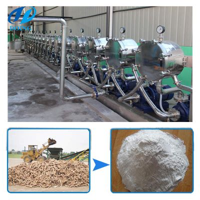 Two ways of cassava starch production line