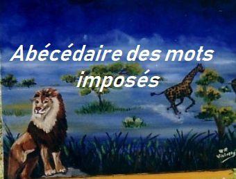 ABECEDAIRE DES MOTS IMPOSES-V